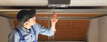 Check for safety features in new garage door installation in Minnesota